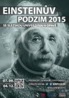 Plakát Einsteinova podzimu 2015