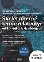Plakát přednášky prof. J. Bičáka