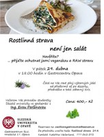 Rostlinná strava není jen salát
